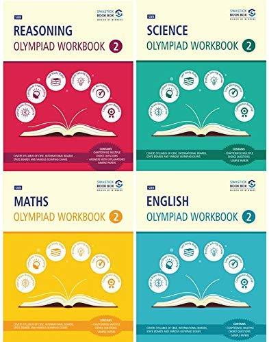 SBB Reasoning, Maths, Science and English Olympiad Workbook Combo  - Class 2 (English Edition)