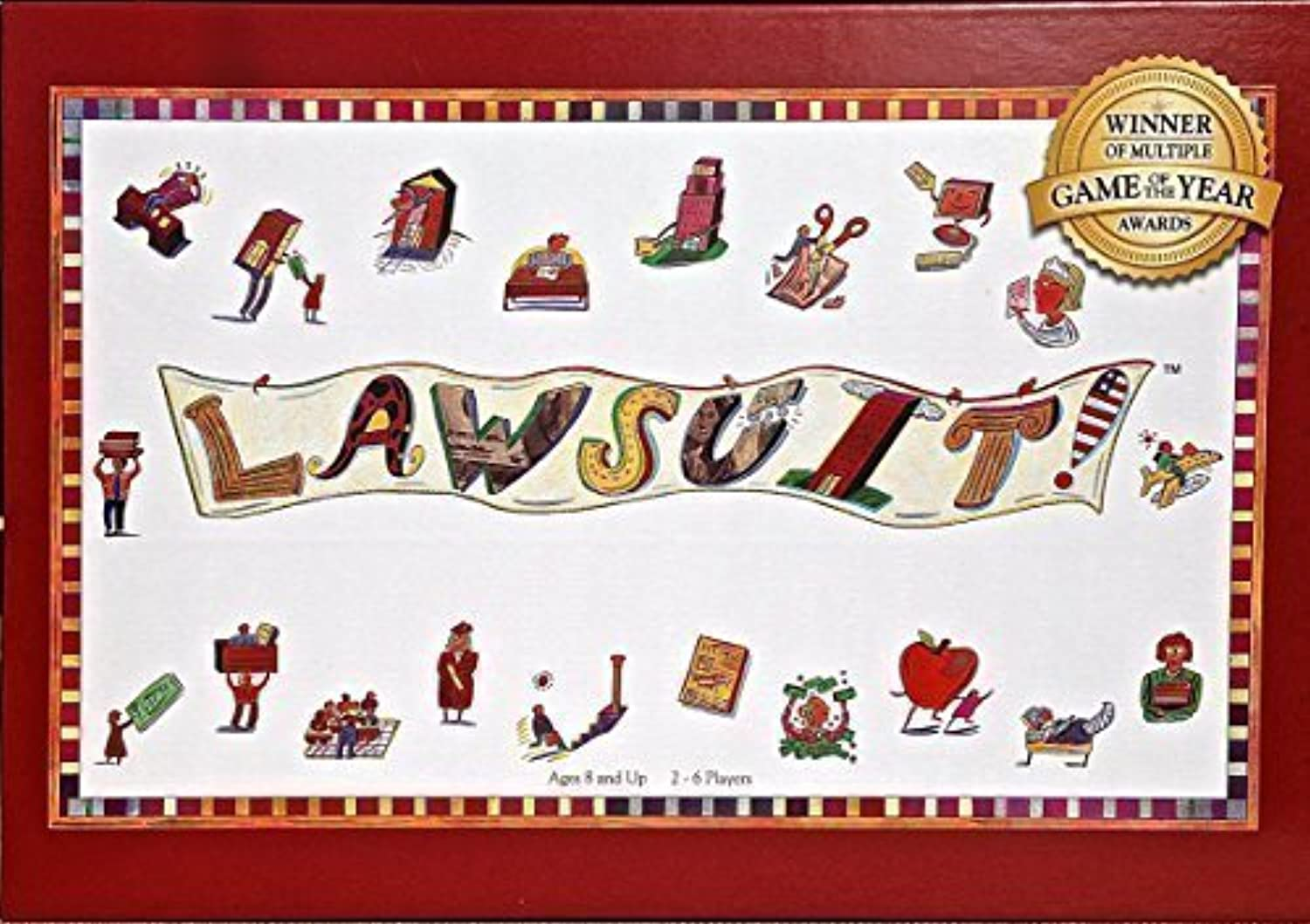 LAWSUIT--A Fun Family Award-Winning Board Game by  Professional Games, Inc.