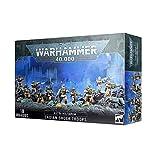 Games Workshop Warhammer 40,000: Astra Militarum Cadian Shock Troops Miniatures (10)