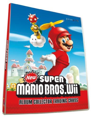 Mario - CMARIOTR - Jeu de Société - Album Stickers - Bros Wii Trading Cards