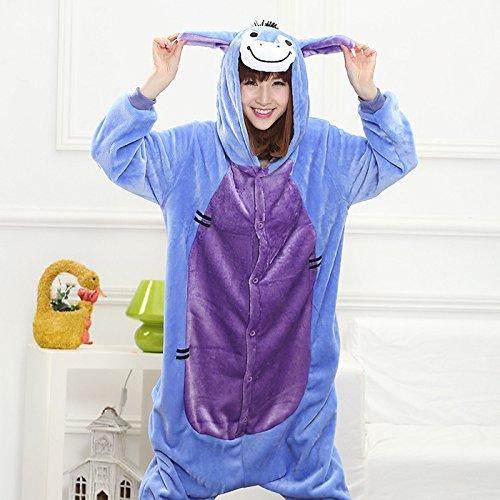 Pijamas Animales Ropa de Mujer en casa Pijamas de Franela Boutique de Pijamas Pijamas par, Esencia de Hueso, L