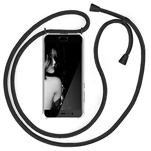 XCYYOO Handykette Handyhülle mit Band Kompatibel für Huawei P10 - Handy-Kette Handy Hülle mit Kordel zum Umhängen Handyanhänger Halsband Lanyard Hülle/Handy Band Halsband Necklace