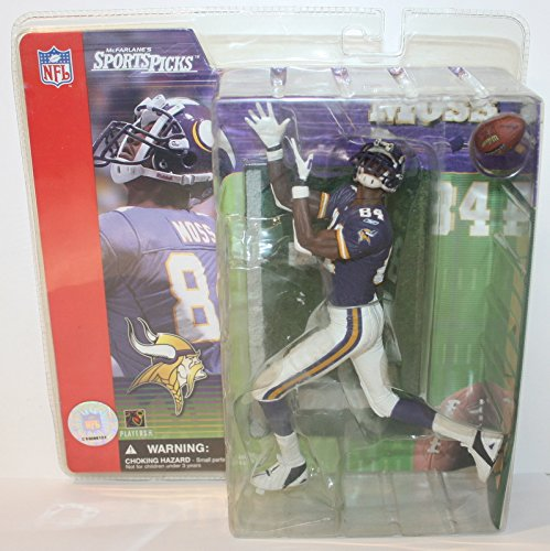 McFarlane Football Series 1: Randy Moss with Purple Jersey