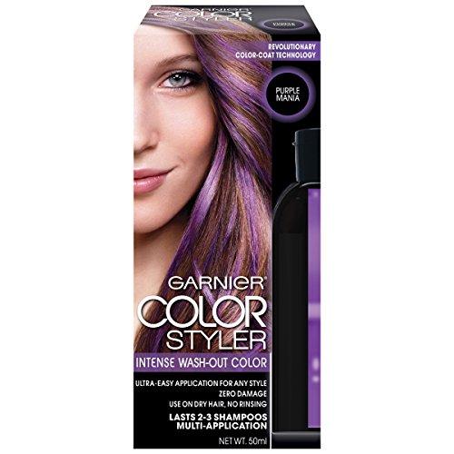 Garnier Hair Color Styler Intense Wash-Out Color, Purple Mania