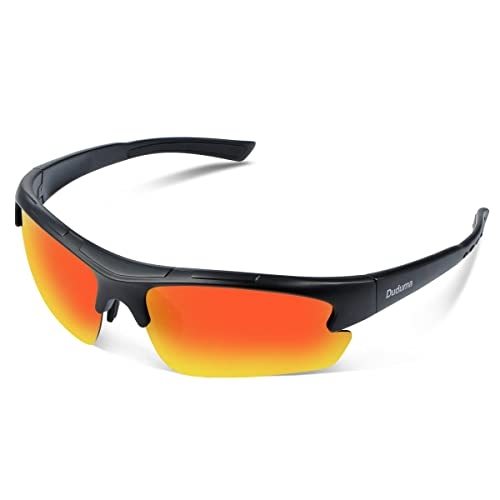 4ff6c47f9c3 Duduma Polarized Designer Fashion Sports Sunglasses for Baseball Cycling  Fishing Golf Tr62 Superlight Frame
