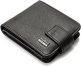 Imperial Horse Leather Wallet Hasp And Button