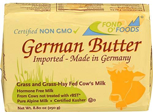 Allgau Grassfed German Butter Unsalted 8.8oz