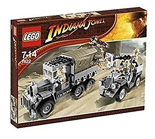 LEGO Indiana Jones 7622 - Die Jagd nach dem gestohlenen Schatz
