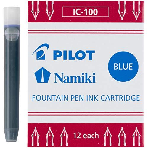 Pilot MR Collection Fountain Pen Cartridge Refill 12/Pkg-Blue