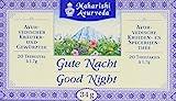 Maharishi Ayurveda Gute Nacht Tee, 3 x 20 Beutel / 34 g, ayurvedischer Kräuter-Gewürz-Tee