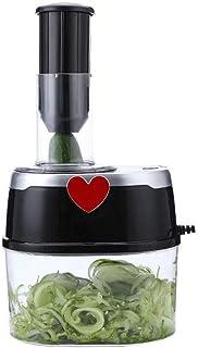 GWFVA Hachoirs à légumes électriques 4 en 1, Coupe-Mandoline Coupe-Nourriture Coupe-légumes Multifonctionnel Julienne Coup...