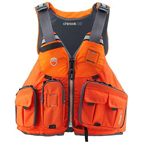 NRS Chinook OS Fishing Lifejacket (PFD)-Orange-XL/XXL