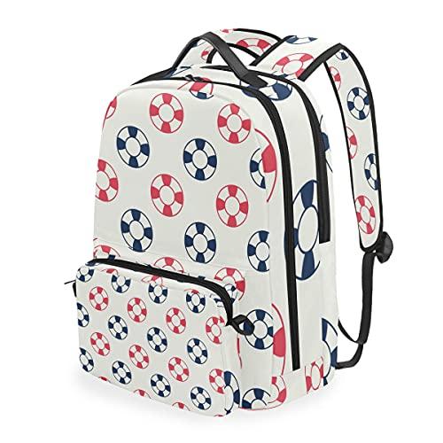 MALPLENA Daypack - Bolsa de corcho para escuela, diseño de aro