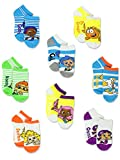 Bubble Guppies Kids 8pk Ankle Socks (4-6 Toddler (Shoe: 7-10)) by Nickelodeon