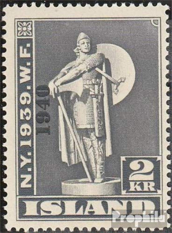 minorista de fitness Prophila Collection Islandia 221 221 221 1940 emisión de sobreCochega (Sellos para los coleccionistas)  hasta 60% de descuento