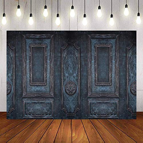 Fondo de fotografía Blanco Negro Pared Habitación Interior Luz Retrato de bebé Fotografía de Boda Fondo de Pared Estudio fotográfico A13 10x10ft / 3x3m