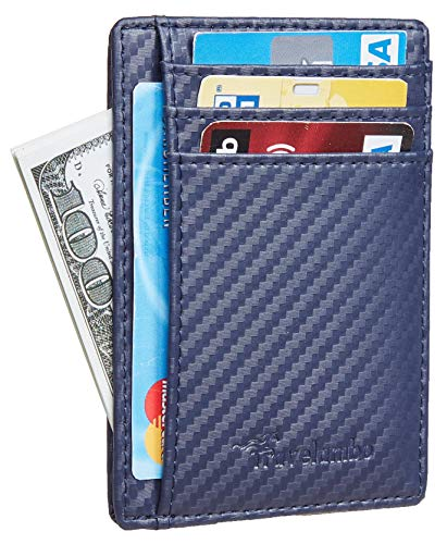 Our #6 Pick is the Travelambo Front Pocket Minimalist Cool Wallet