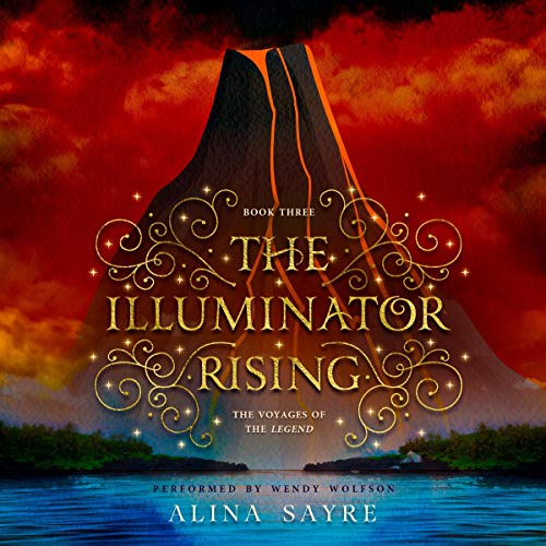 The Illuminator Rising audiobook cover art