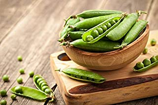 Handmade 150 Seeds -Sugar Snap Pea- Heirloom Vegetable Garden -Cool Weather Spring Or Fall - Use Fresh Or Frozen Overstock Price