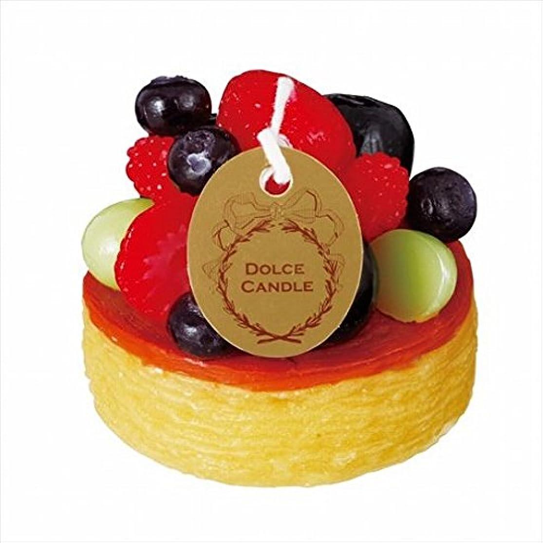 時代遅れギャロップ持ってるスイーツキャンドル( sweets candle ) ドルチェキャンドル 「 フルーツタルト 」