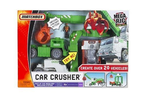 Matchbox Mega Rig Car Crusher Building System
