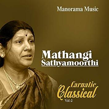 Mathangi Sathyamoorthi Classical Vol 2 (Carnatic Classical Vocal)