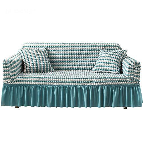 BAQIU Funda de sofá para Silla súper elástica - Funda de sofá Suave Antideslizante de Spandex, Protector de Muebles Lavable, Gran decoración del hogar, para niños, Sala de Estar