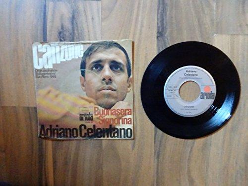Adriano Celentano - Canzone / Buonasera Signorina - Ariola - 19 968 AT