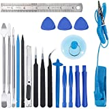 Zacro 21 in 1 Opening Pry Tool Kit with Spudgers and Anti-Static Wrist Strap,Professional Repair Tool Kits for Mobile Phone