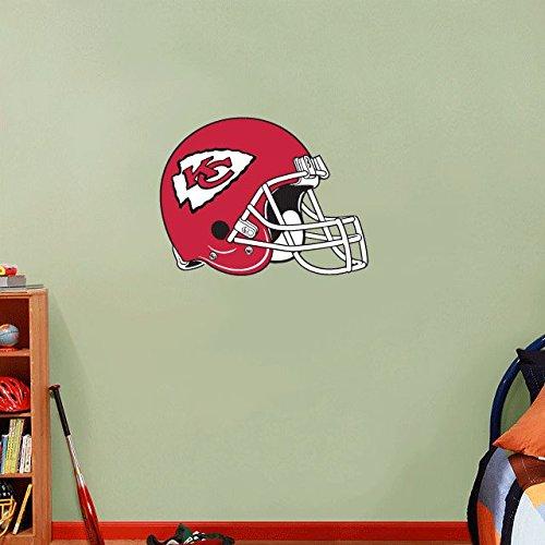 Kansas City Chiefs NFL Football Home Decor Art Wall Vinyl Sticker 63 x 48 cm