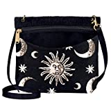 Danny K. Women's Tapestry Bag Shoulder Handbag, Sugaree Purse Handmade in the USA (Celestial)