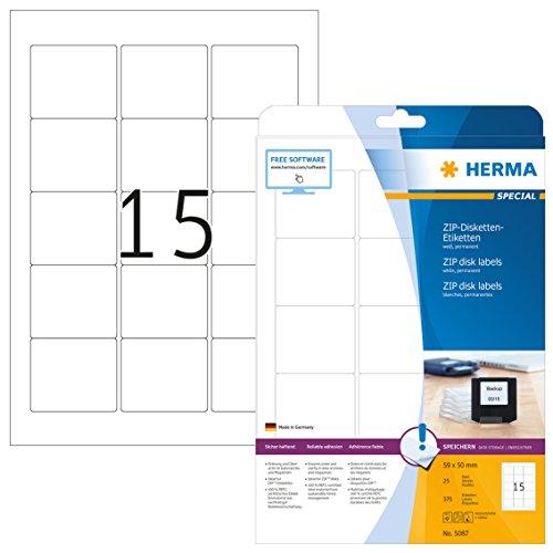 HERMA 5087 Disketten Etiketten 3,5