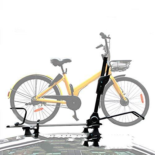 LYzpf Portabicicletas Techo Bicicleta Coche Enganche Almacenamiento Transporte Portátil Exterior Universal Cerradura...