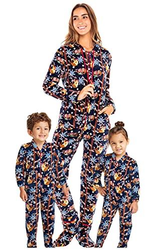 Adult Sloth Footie Pajamas