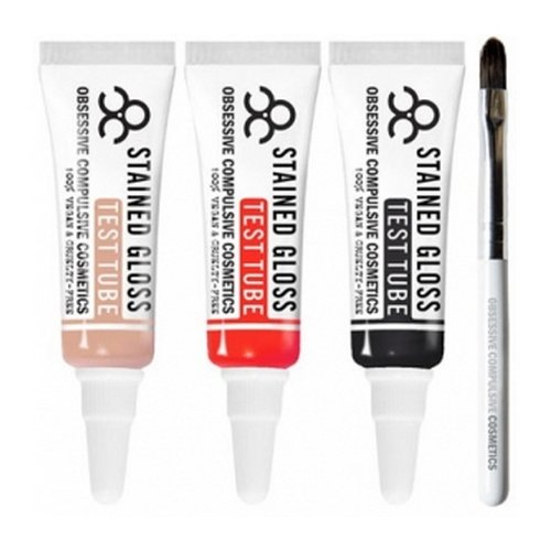 (3 Pack) OBSESSIVE COMPULSIVE COSMETICS Lip Tar Test Tube Trio : MY BLOODY VALENTINE - My Bloody Val