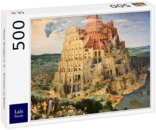 Lais Puzzle Pieter Bruegel el Viejo - Torre de Babel 500 Piezas