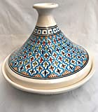 Tagine Ex Large in un design arabesco tunisino