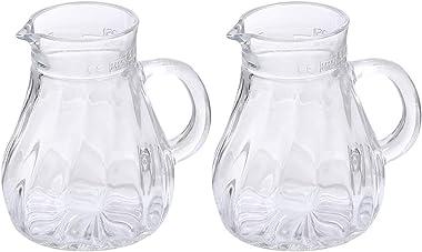 Oberglas Salzburg Juice/Water/Milk/Cocktail/Whiskey Glass Jug Set, 250ml, Set of 2, Transparent