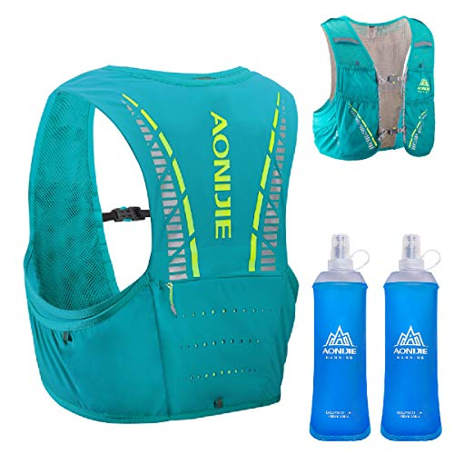 TRIWONDER 5L Trinkrucksack mit Trinkblase, Ultraleicht Laufrucksack für Marathon,...