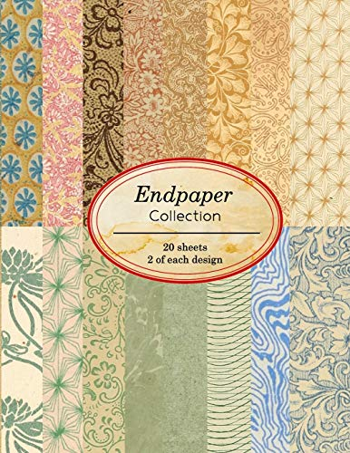 Compare Textbook Prices for Endpaper Collection: 20 sheets of vintage endpapers for bookbinding and other paper crafting projects Vintage Paper Books  ISBN 9781671809550 by Journals, Ilopa