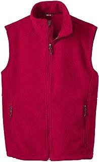 Best men's red fleece vest Reviews
