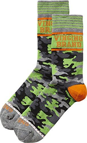 Vingino Jungen Socken neon camo AB1630006 (23-26, neon camo)