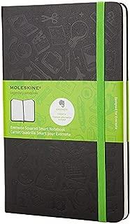 Moleskine Evernote Notebook Pocket Squared Hard Cover Black