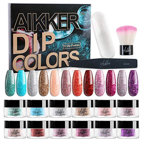 10 best aikker dip powder base activator and top coat with activator for 2021