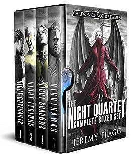The Night Quartet Boxed Set: A Dystopian Superhero Story by [Jeremy Flagg]