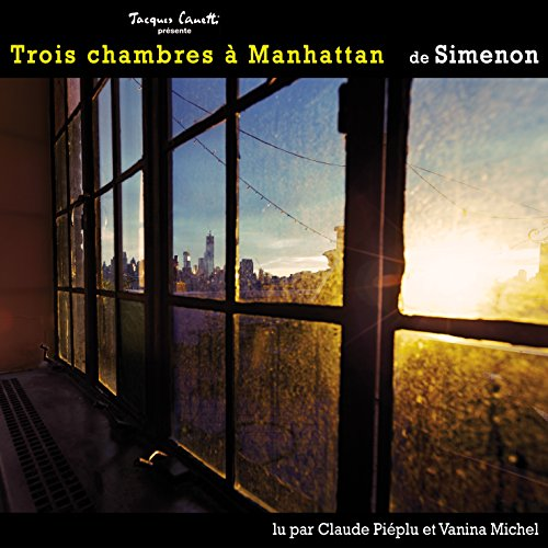 Trois chambres à Manhattan audiobook cover art