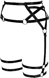 pentagram garter belt