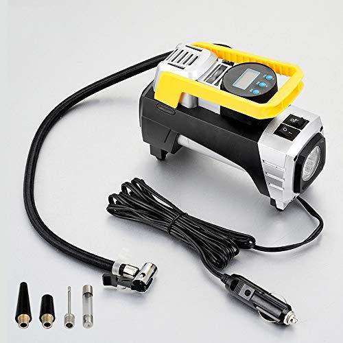 WNN-URG Compresor de Aire de la Bomba, Digital neumático del, Bomba de Aire del Coche, Conveniente for el Coche/Bicicleta/Moto, Control de presión de Aire y Cierre automáticos URG