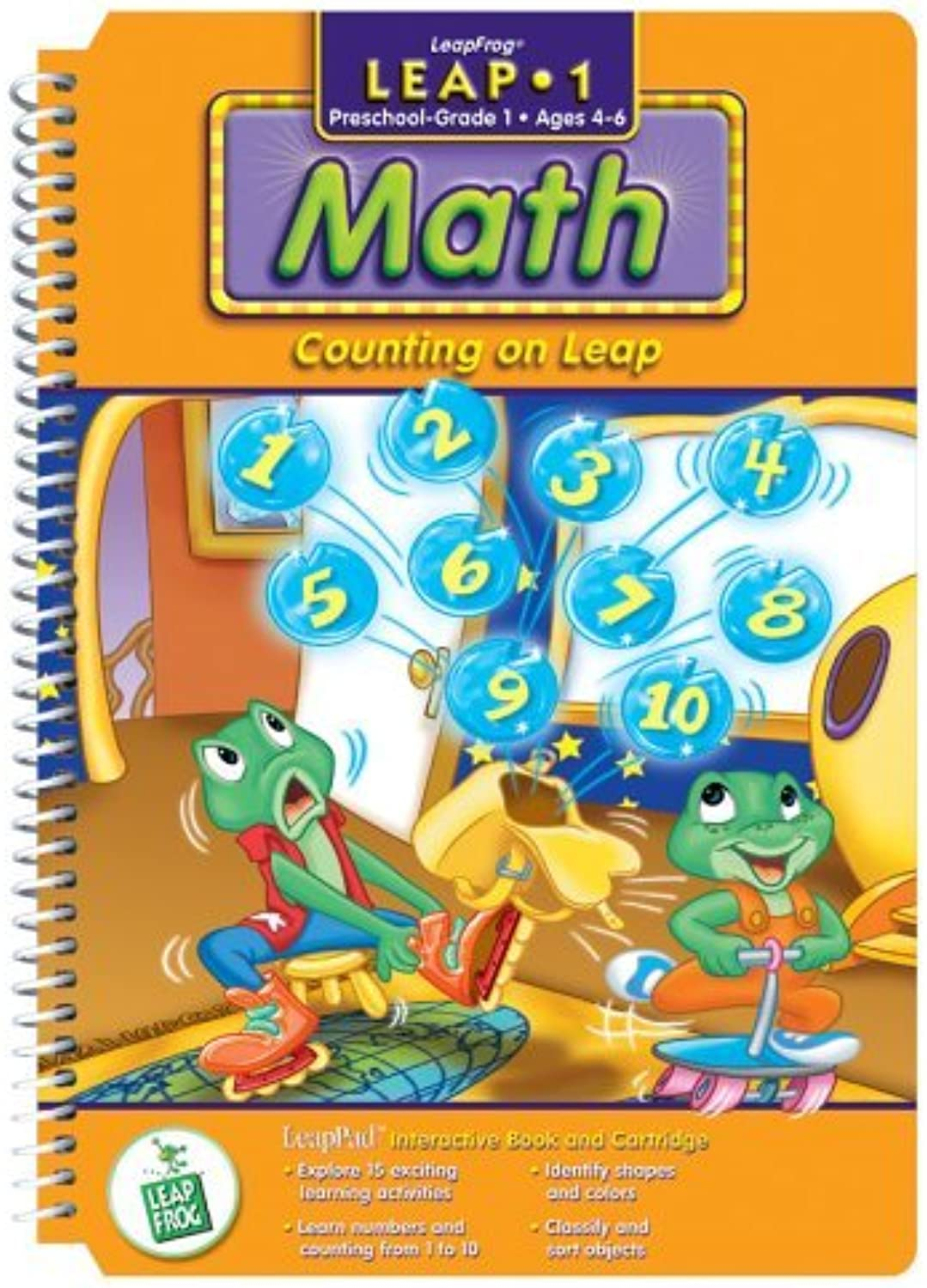 First Grade LeapPad Book  Counting on Leap by LeapPad