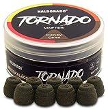 Haldorado Tornado, señuelos Boilie para fumar o sangrar, cebo de pesca, forma especial, pan de jengibre, marrón